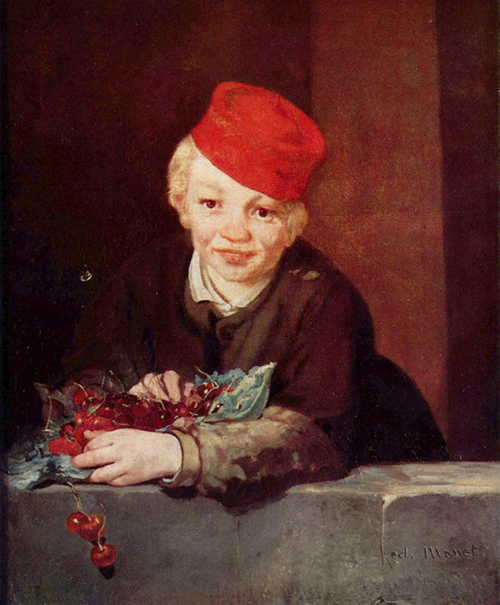 Boy with Cherries