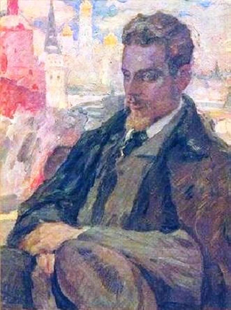 Rilke  - by Leonid Pasternak (1928)