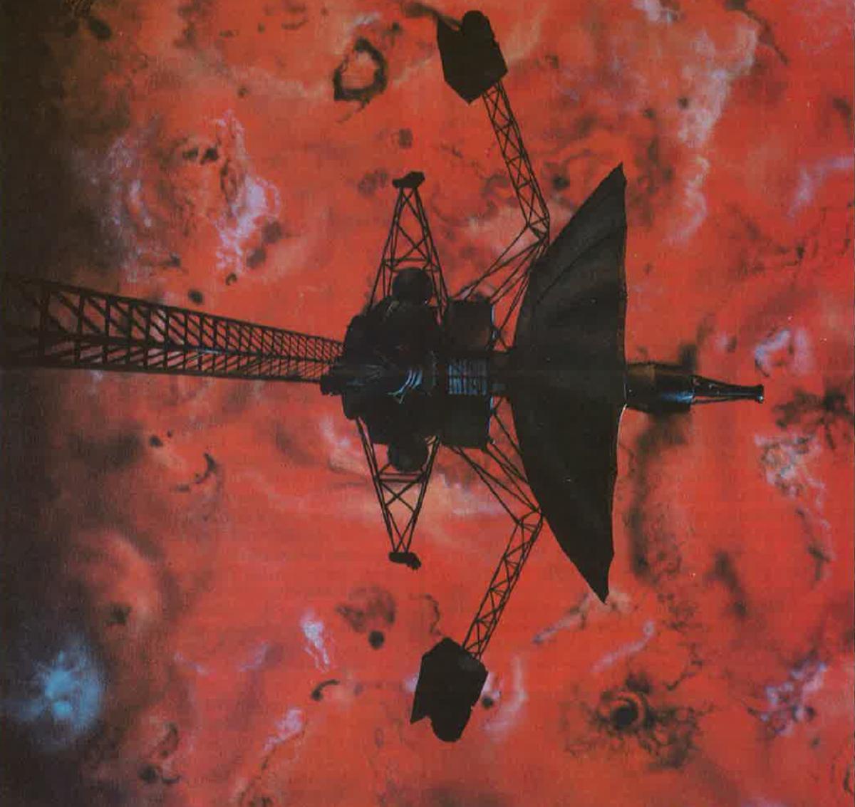 Galileo over Io.