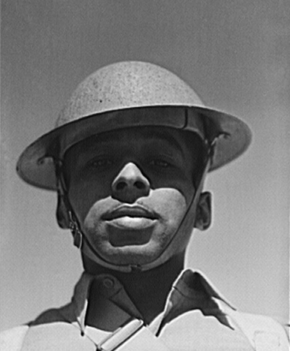 Sergeant Franklin Williams of the 41st Engineers
