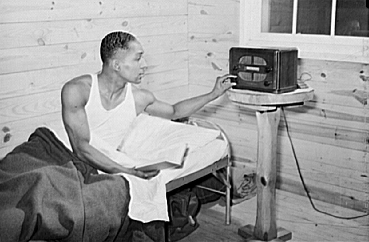Sgt Franklin Williams in the barracks at Ft Bragg