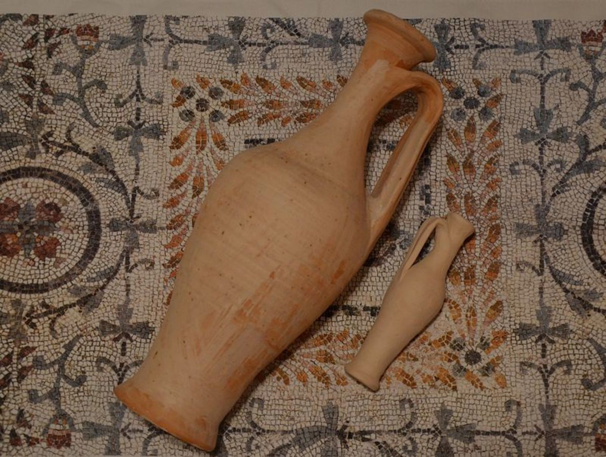 Garum amphorae reproductions