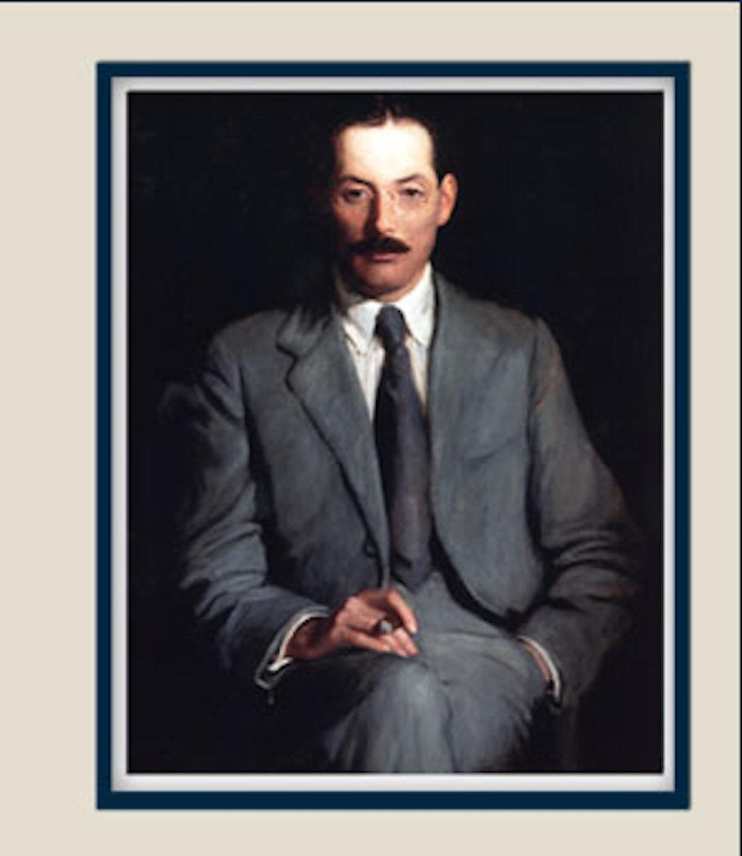Portrait of E.A. Robinson