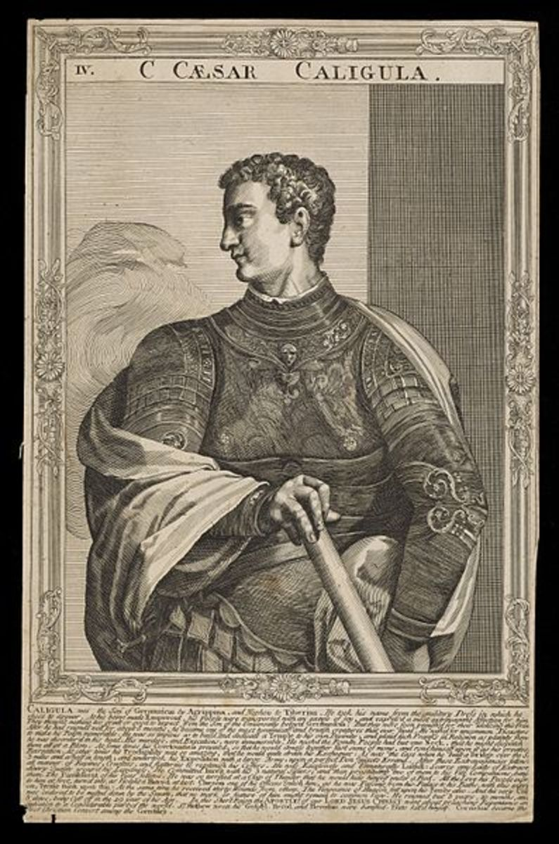 18th century engraving of Gaius
