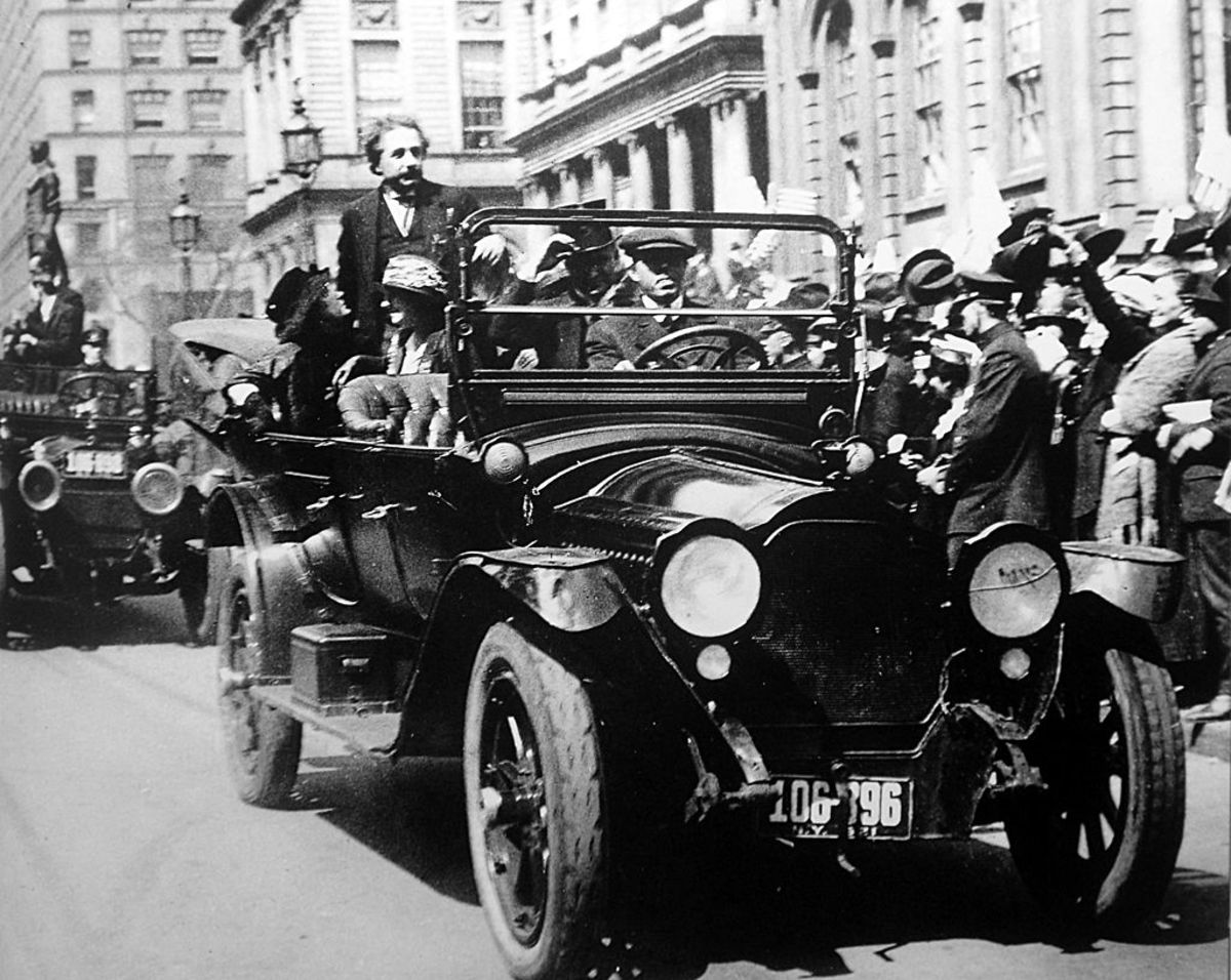 Einstein's visit to New York in 1921