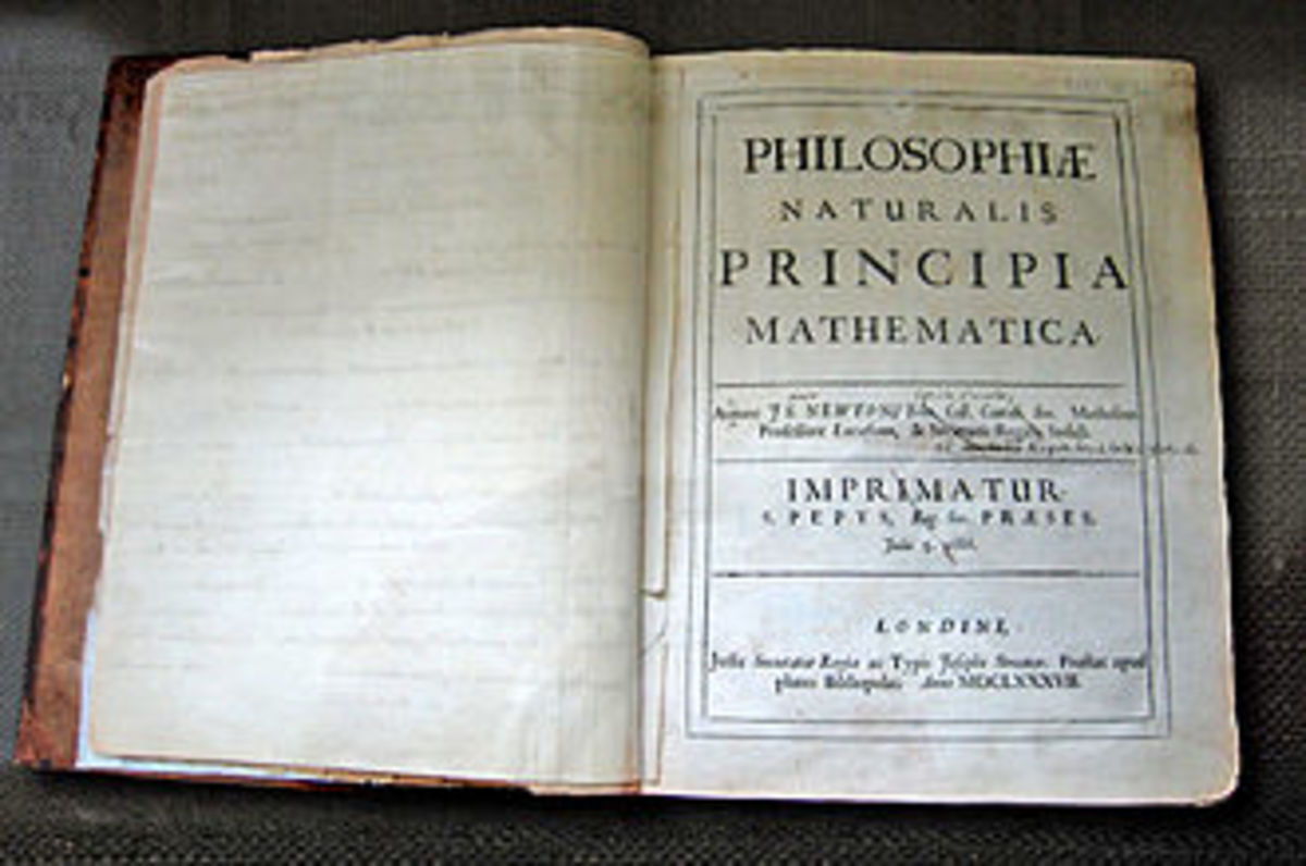 Newton's own annotated copy of his 'Principia'