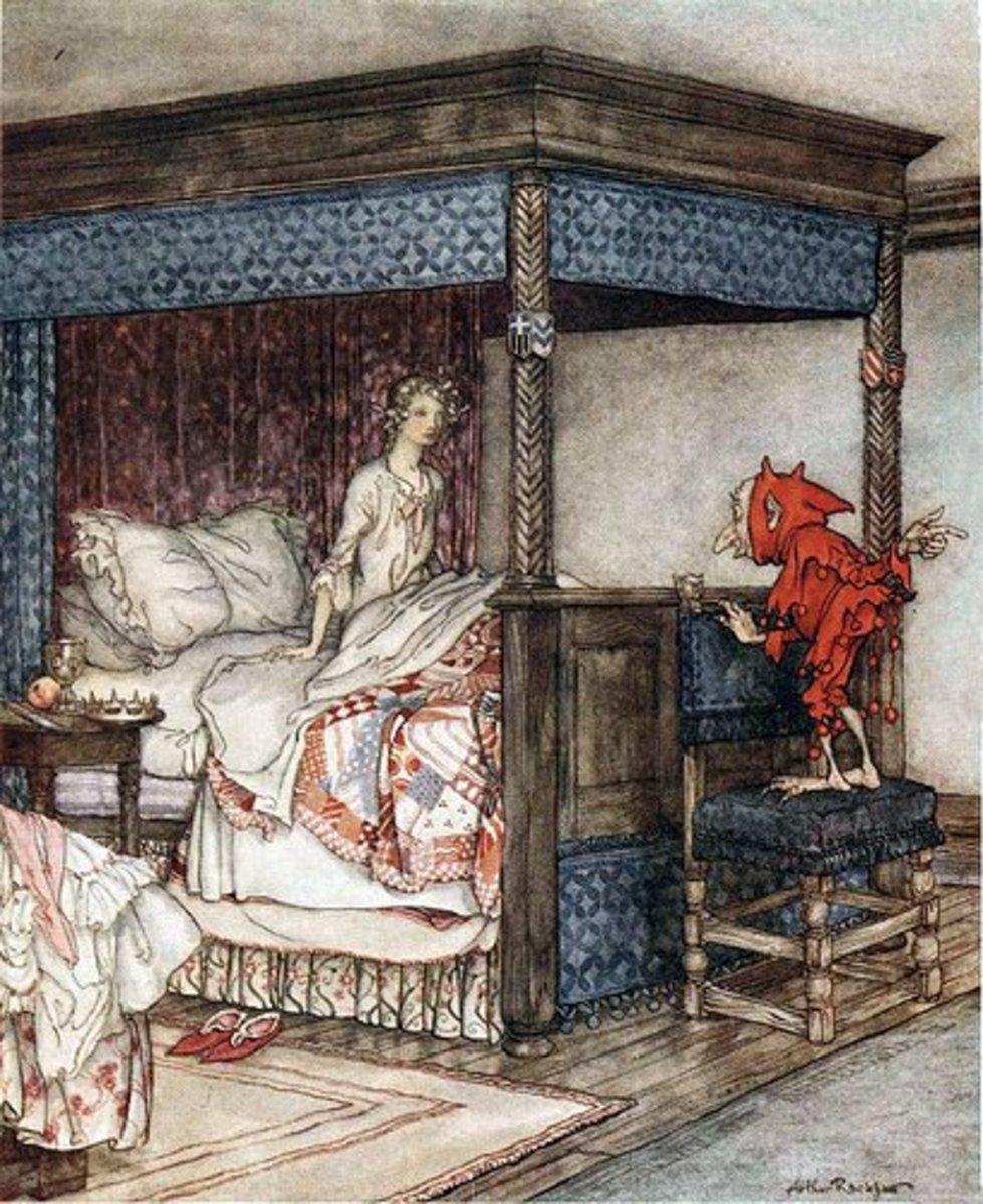 A house elf, by Arthur Rackham.