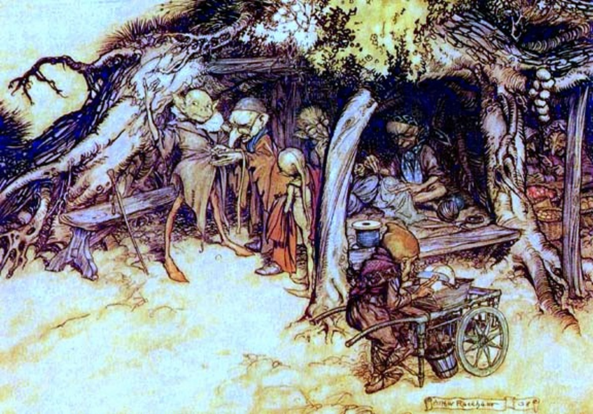 Elves, by Arthur Rackham