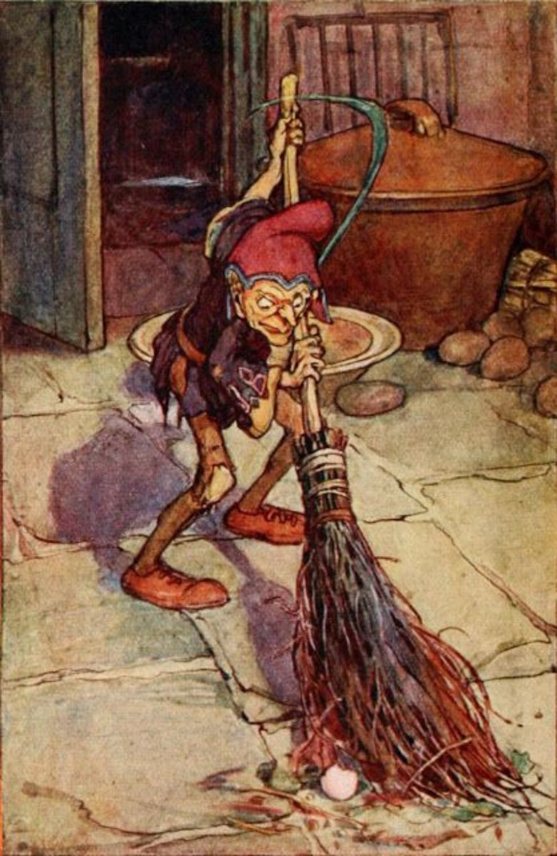 Brownie, by Arthur Rackham.