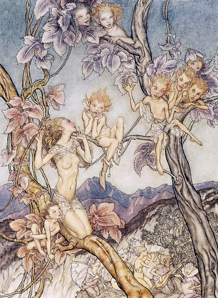 Fairies, by Arthur Rackham