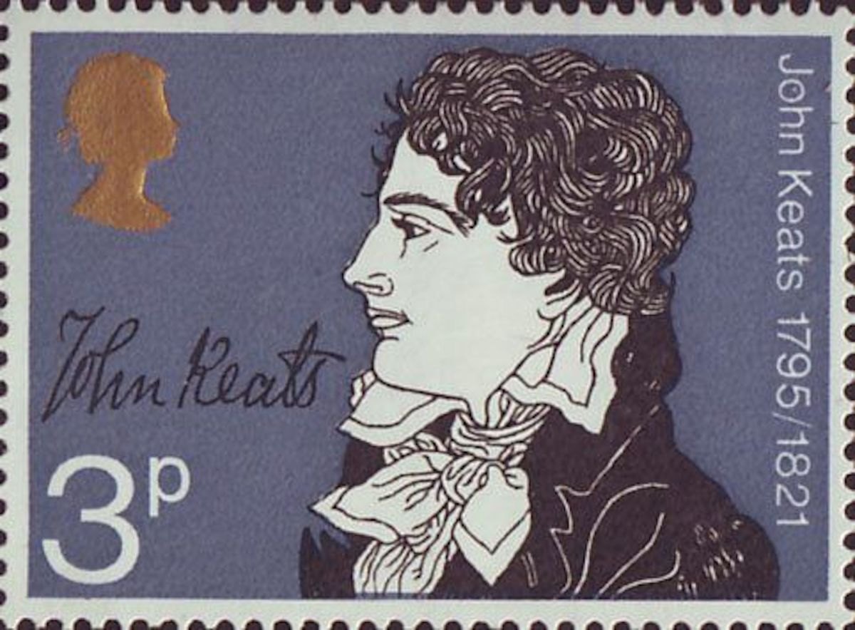 Commemorative Stamp - John Keats
