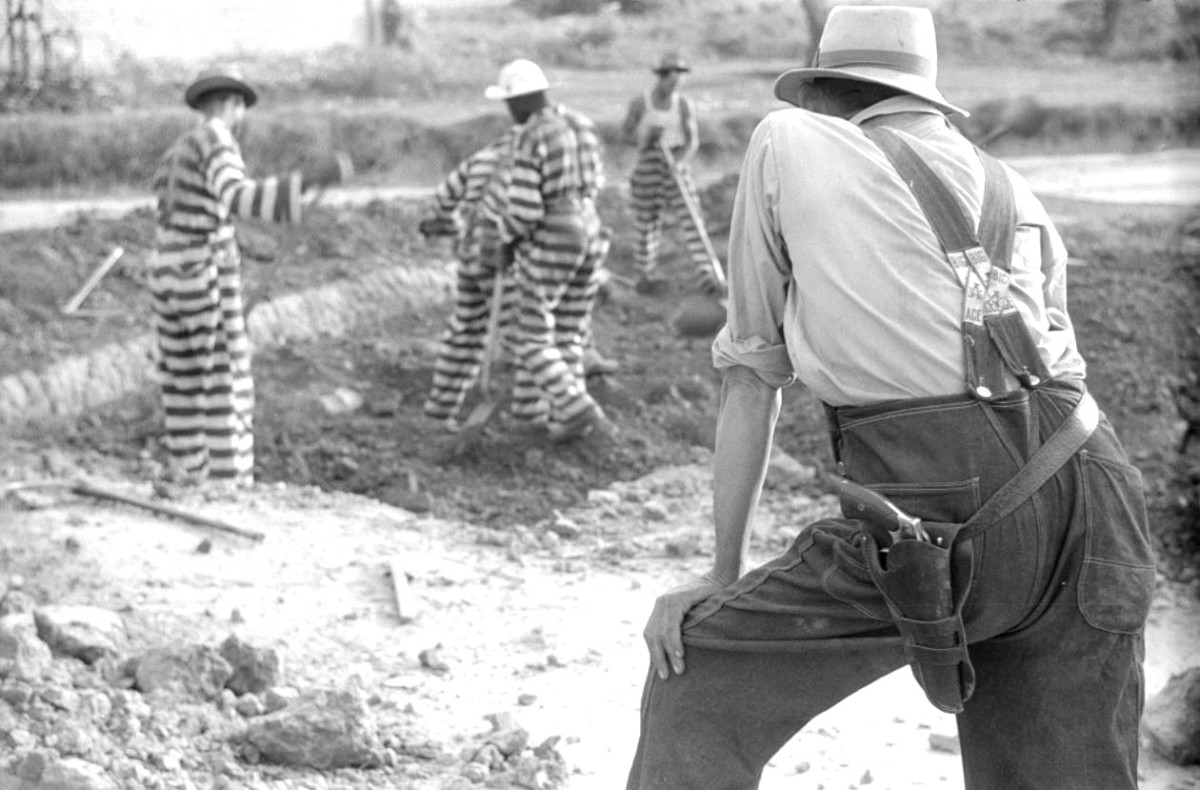 A Georgia chain gang in 1941