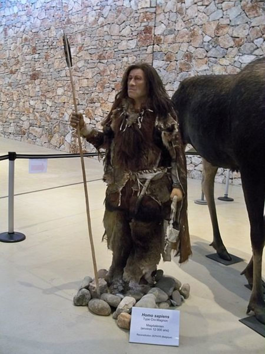 Neanderthal exhibit, Germany.