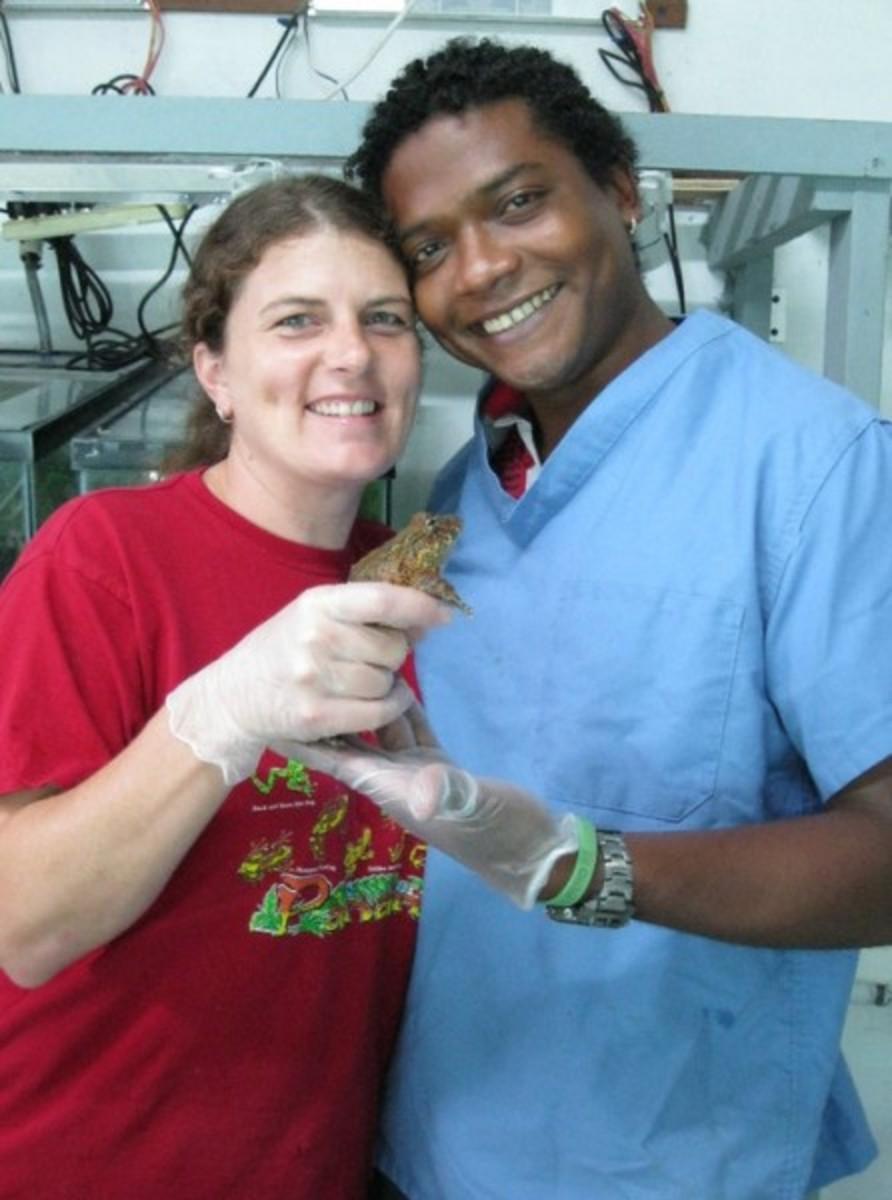 Heidi & Edgardo Griffith.  Image courtesy EVCC.