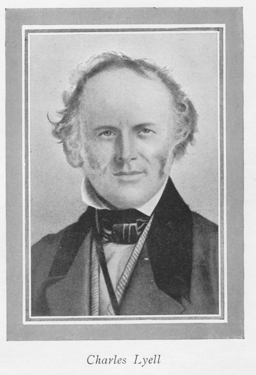 Charles Lyell.  Image courtesy Wikimedia Commons.
