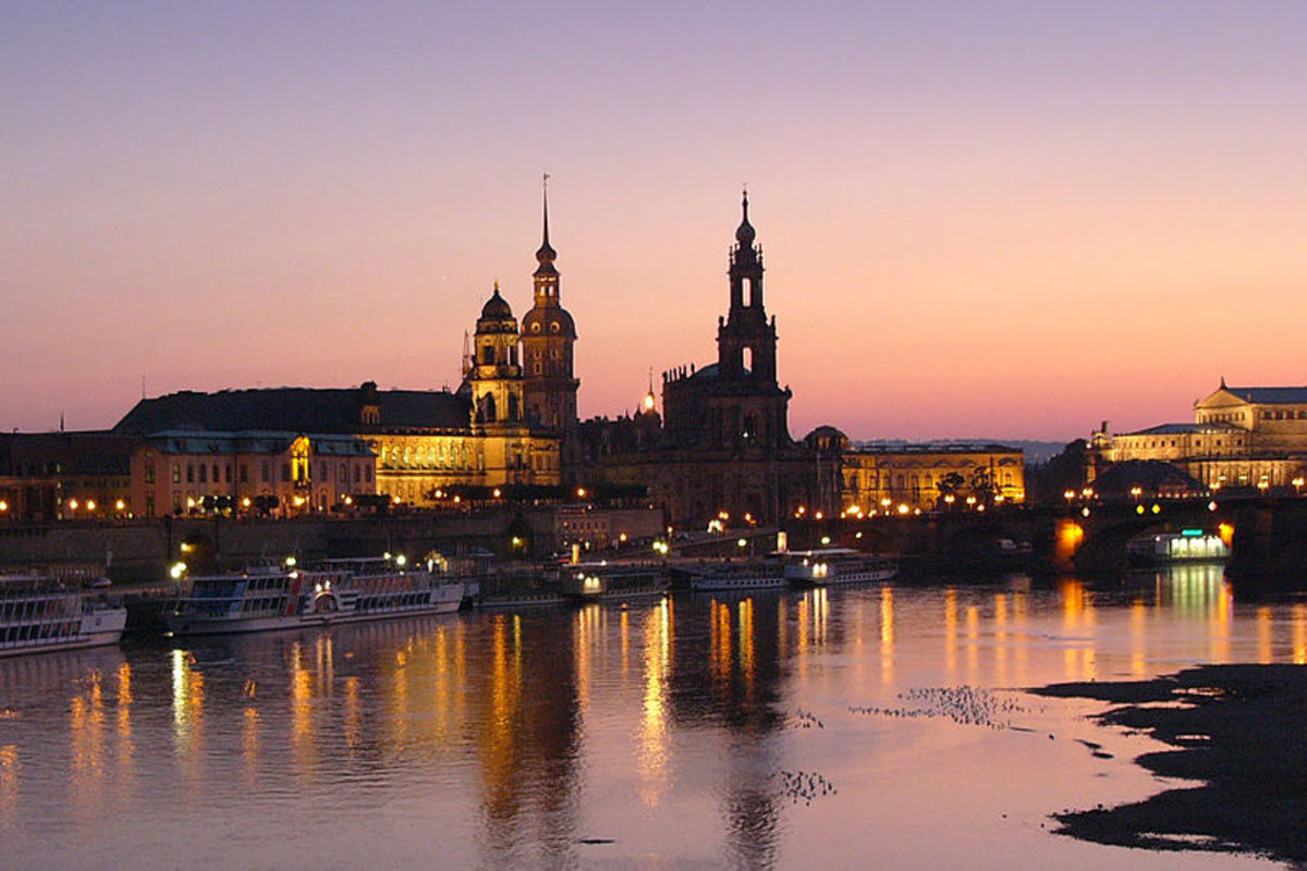 The Soviet occupiers refused to restore Dresden but since the Berlin Wall fell in 1989 some of the city's architectural gems have been rebuilt.