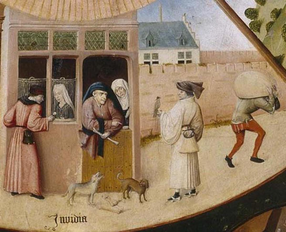 the seven deadly sins of iago an analysis of shakespeares othello Emilia is iago's wife, so of course, she followed him to cyprus  contextual  link: the seven deadly sins can be used as context here as.