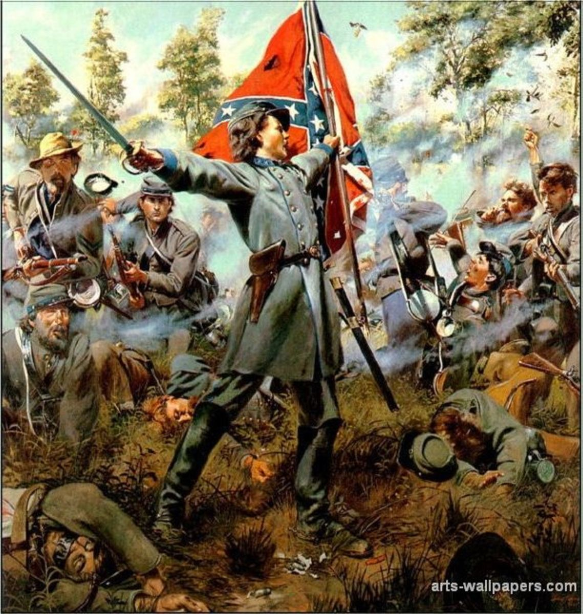 The Confederates had the mindset that their cause in the war was right, and that the war was one of Northern Aggression. This sentiment can still be seen and felt today in some of the Southern states.