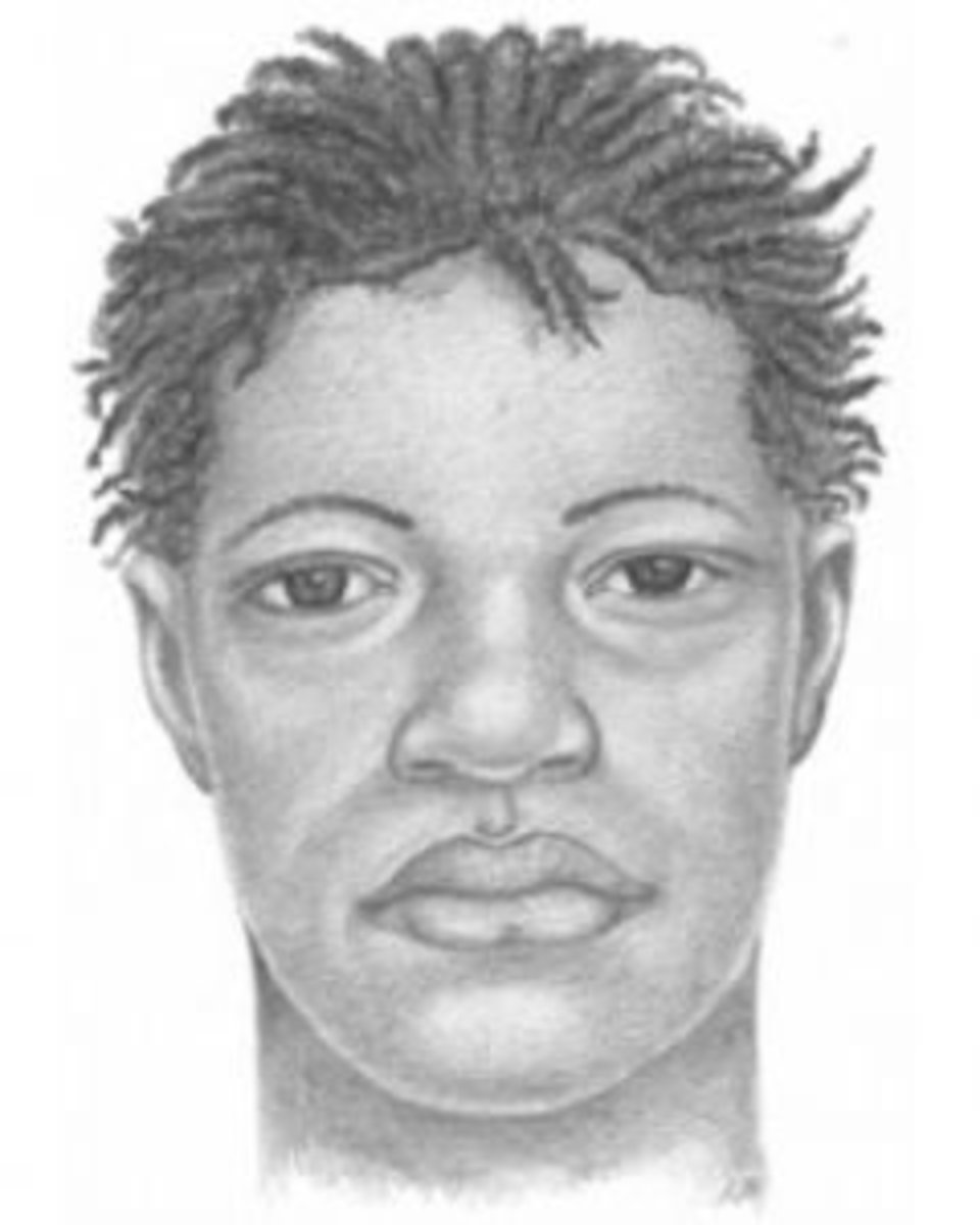 Police sketch of Mobley kidnapping suspect