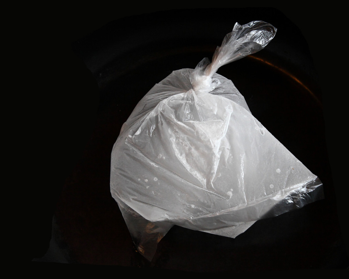 An imprint left in a plastic bag exposed Ron Gillette as a murderous liar.