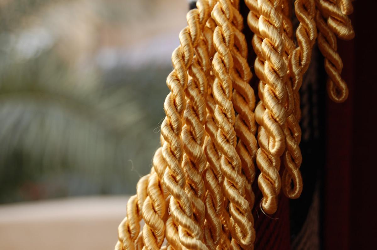 Gold threads found on Josiah Ward's victim put him in prison.