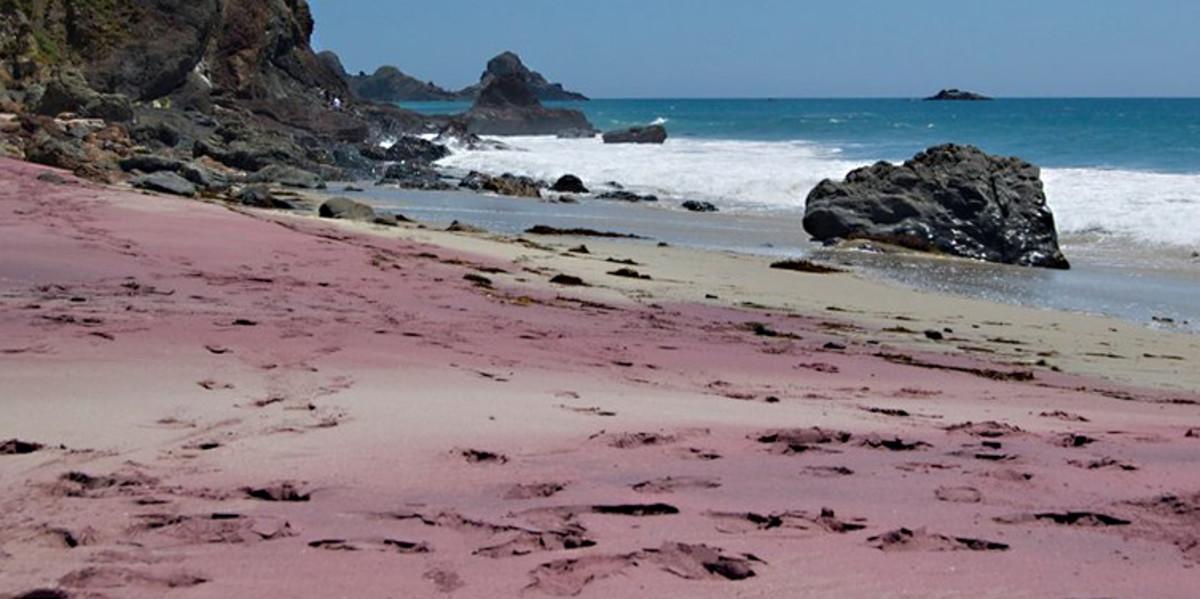 Purple Pfeiffer Beach