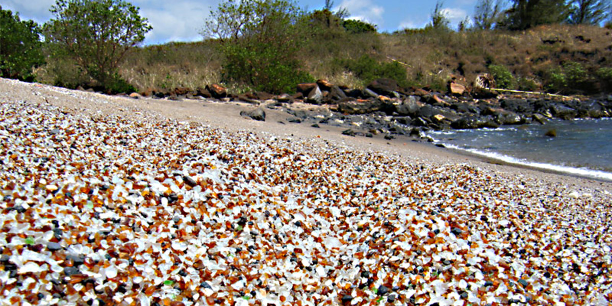 Multicoloured Glass Beach