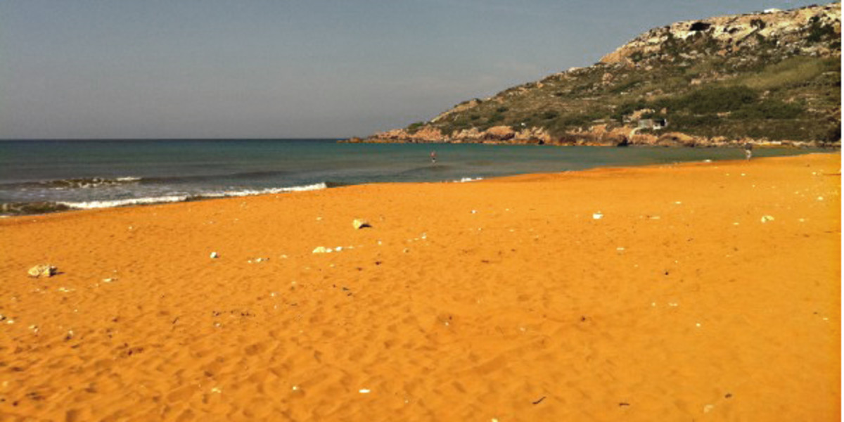 Orange Ramla Bay