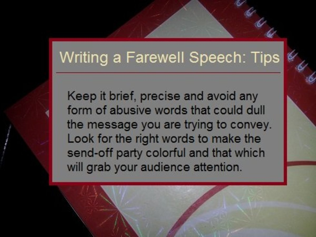 best farewell speech for outgoing students by teacher owlcation what to say in farewell speech tips