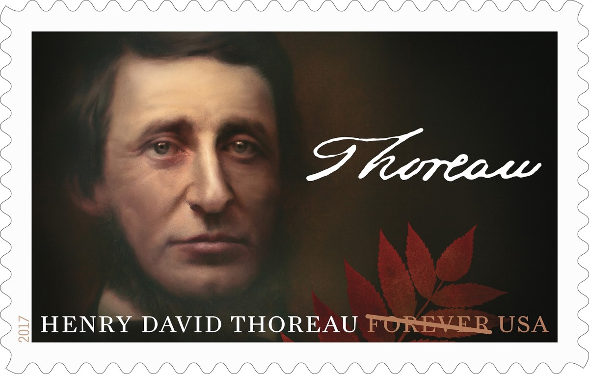 Henry David Thoreau - Commemorative Stamp - U.S.A.