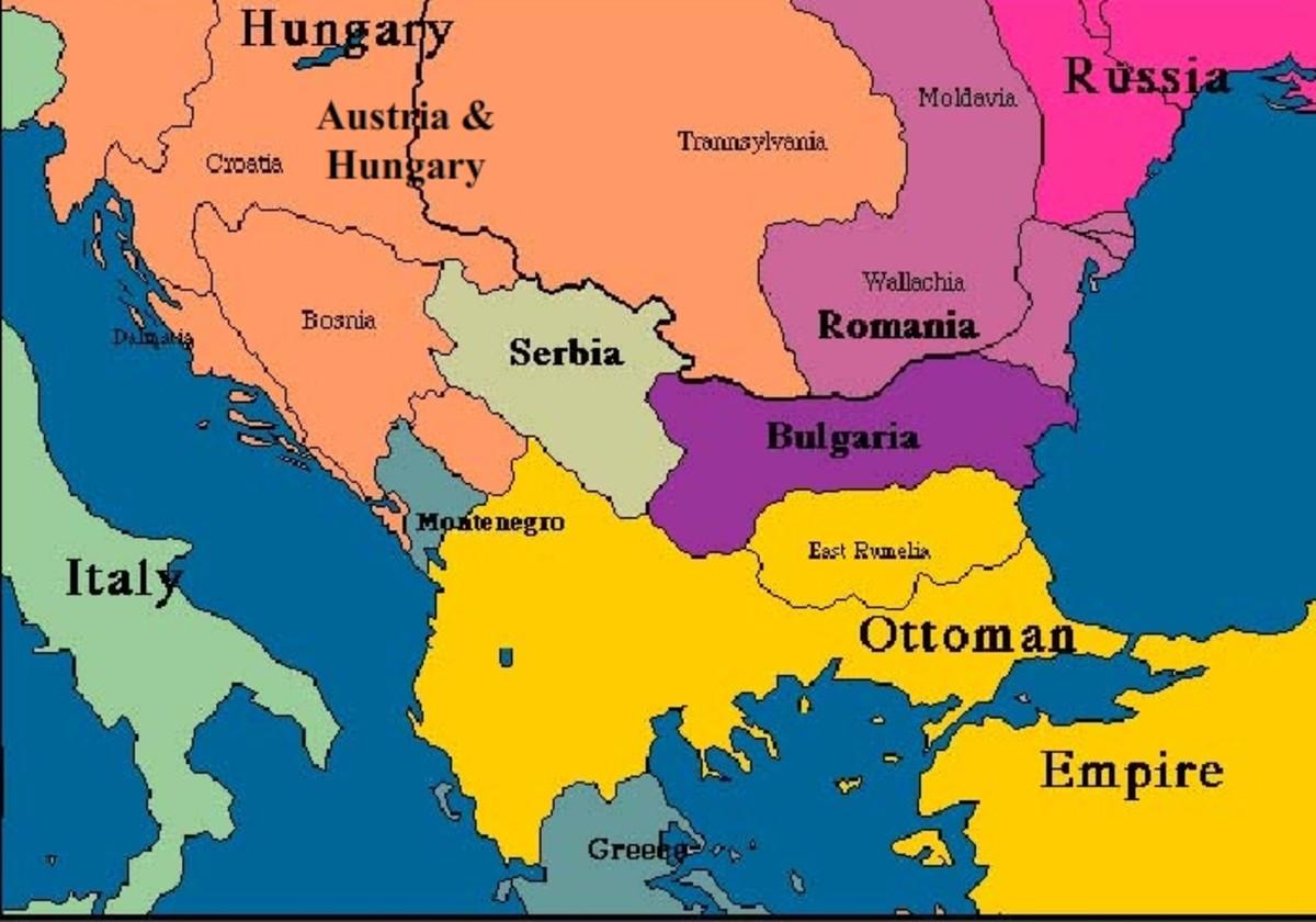 Balkan in 1878