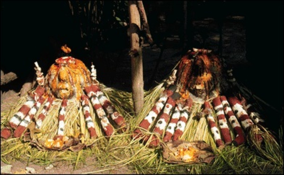 Shrine to Legba