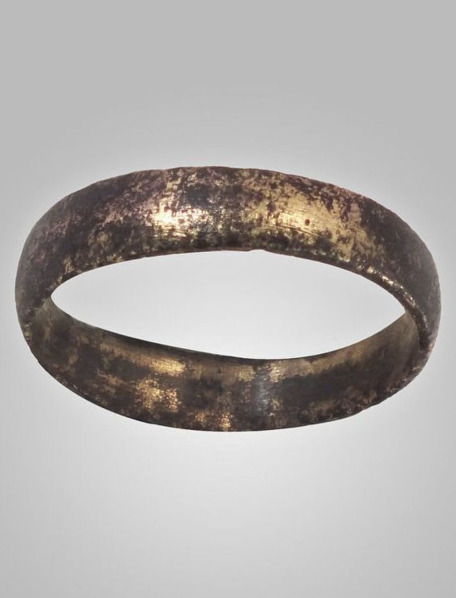 Ancient Viking wedding ring