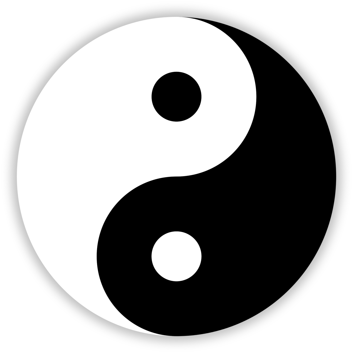 The yin-yang symbol from China