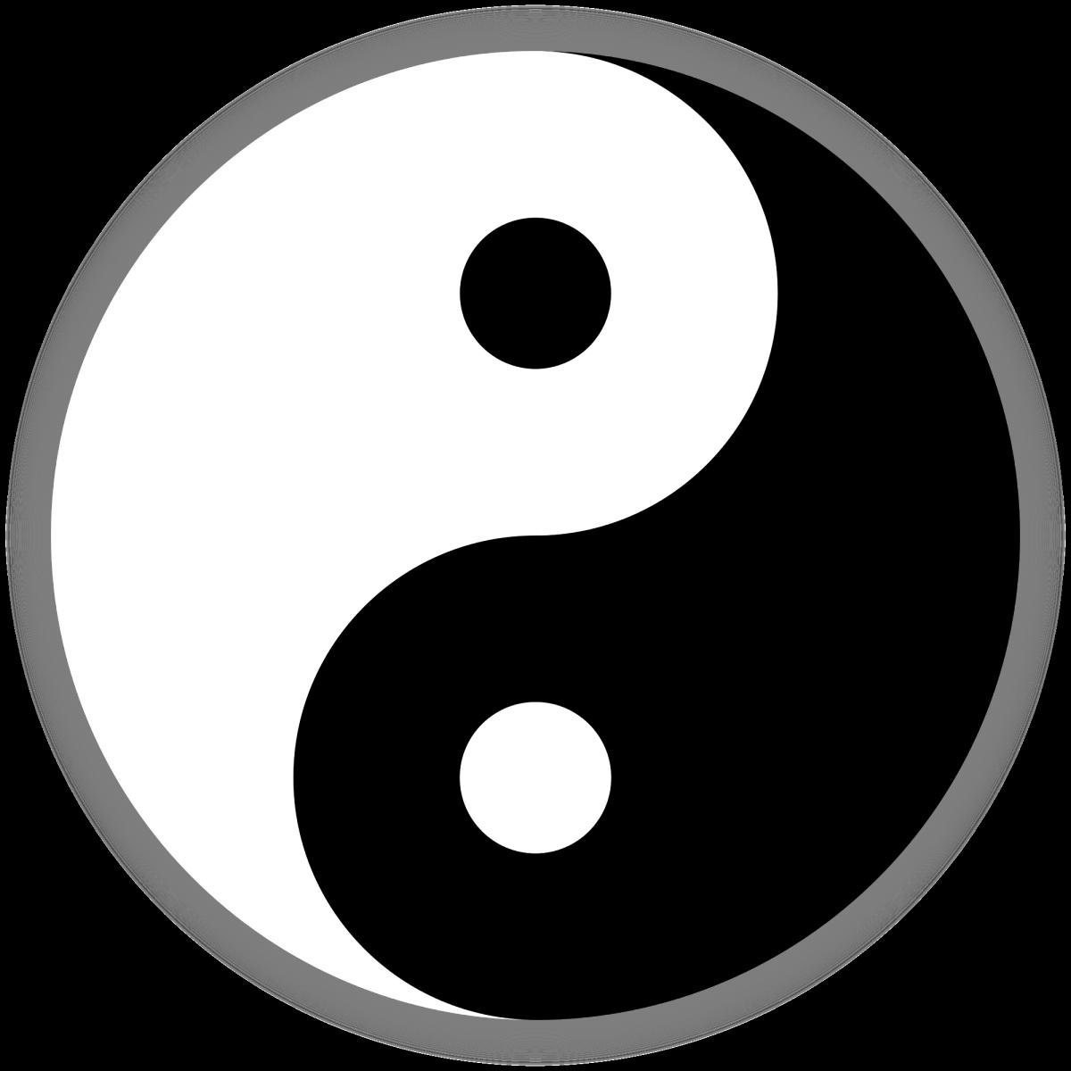 The yin-yang symbol from China