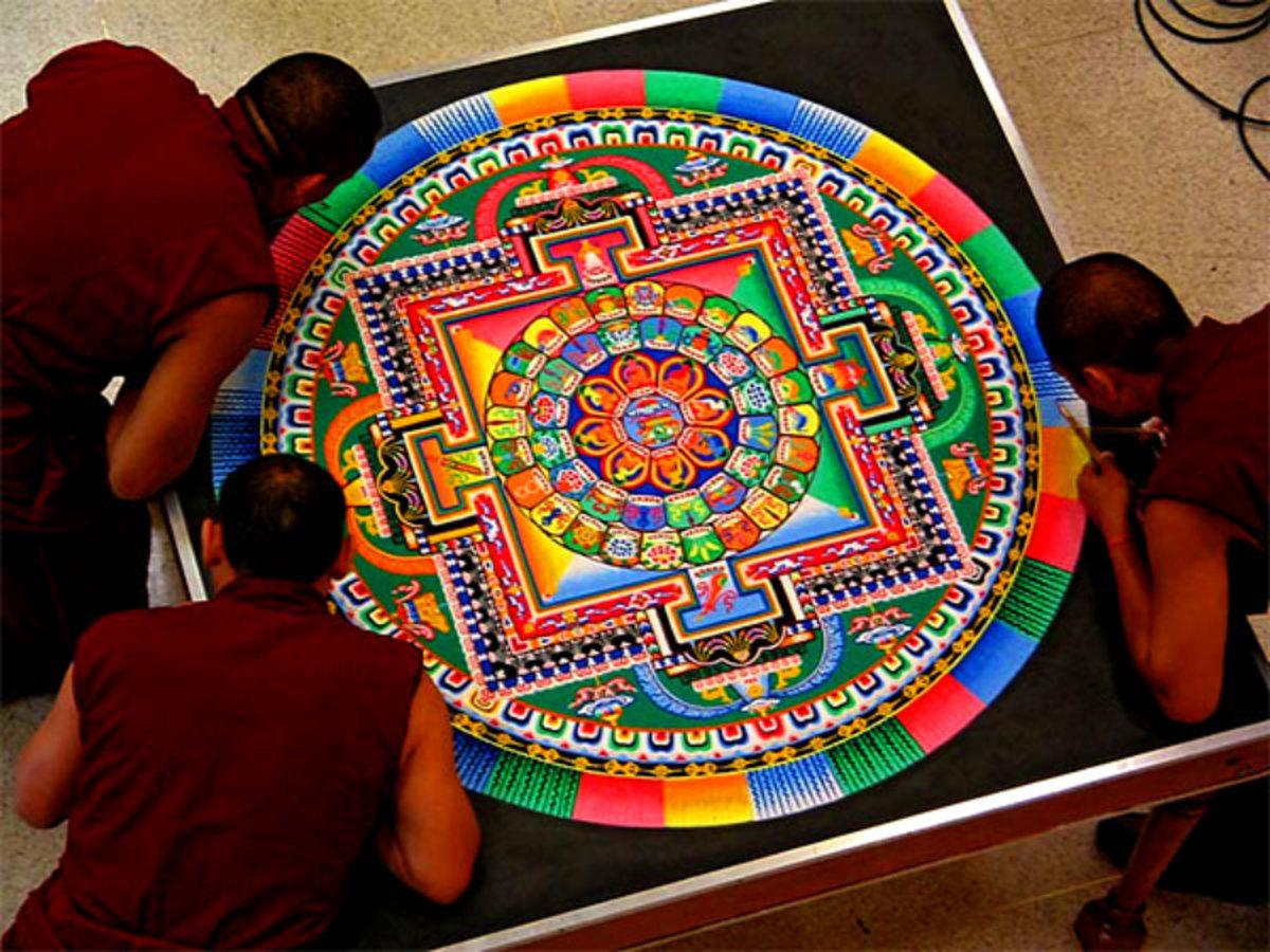 Hindu mandalas