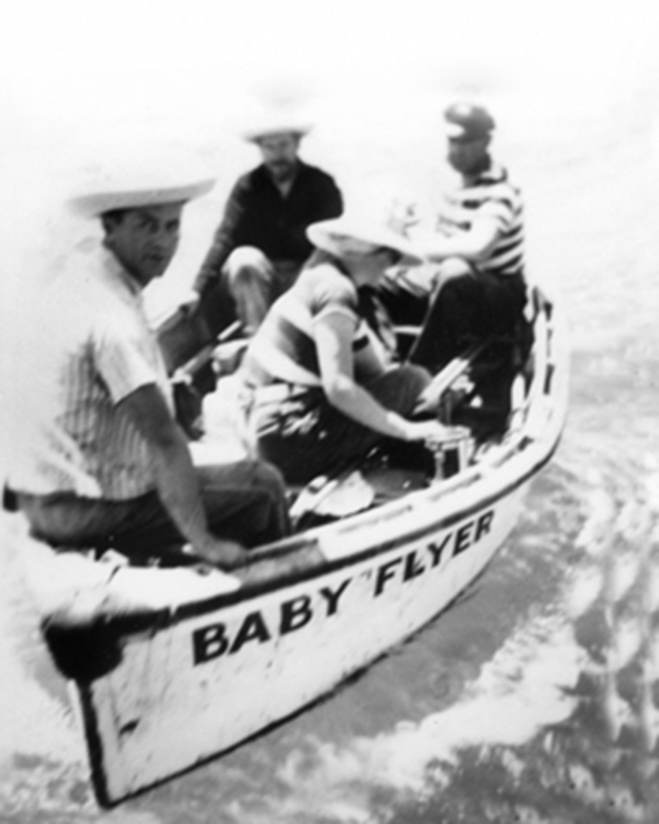 Steinbeck and oceanographer friend Ed Ricketts fishing for folklore on the Sea of Cortez