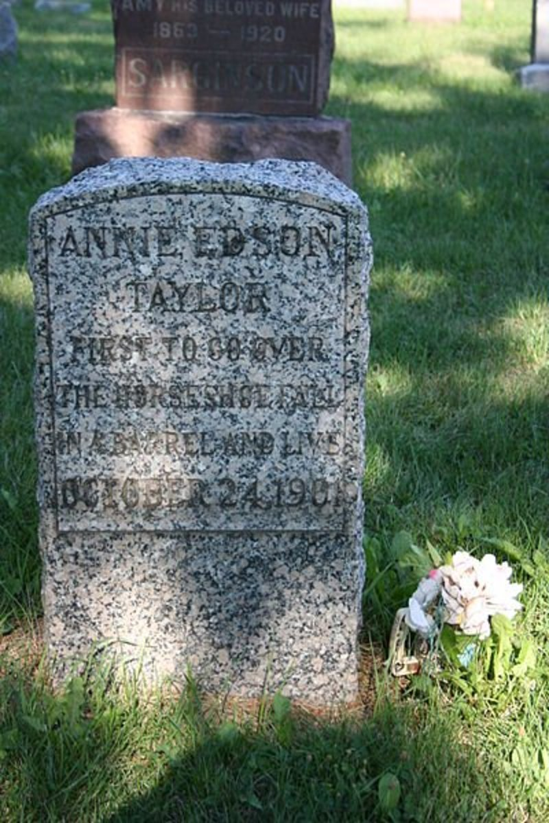 Annie's grave.