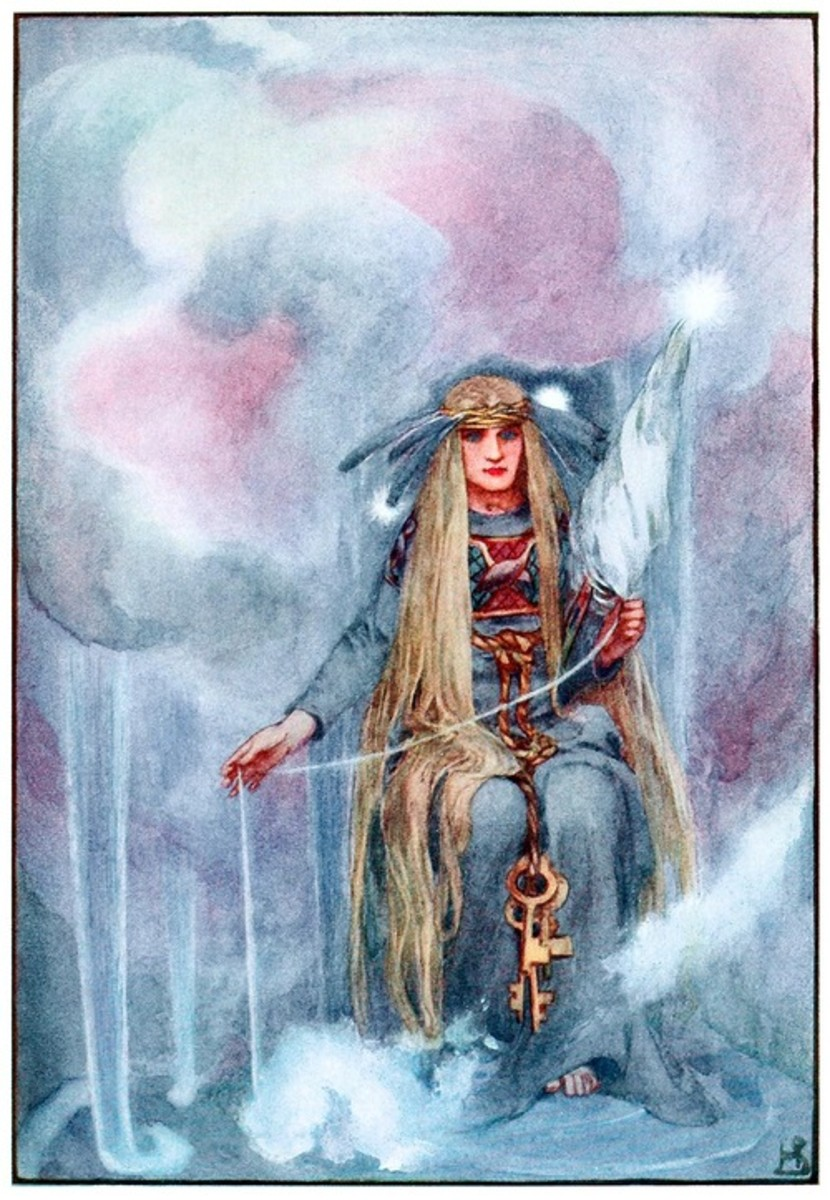 Frigga, by Helen Stratton, 1915