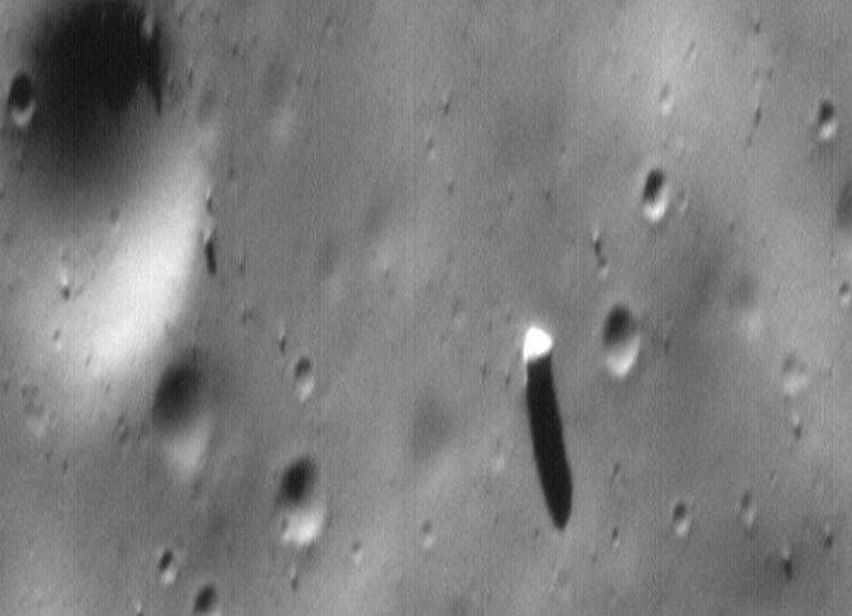 Monolith on Phobos: Natural or Artificial?