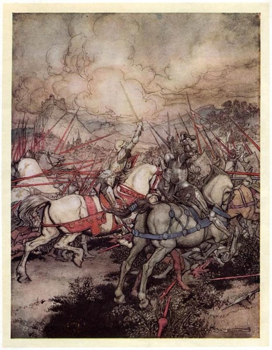 King Arthur (Arthur Rackham)