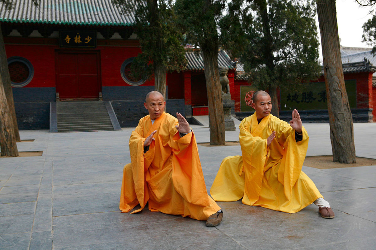 Shaolin is honored as the founding place of Chinese martial arts in all Wuxia stories.