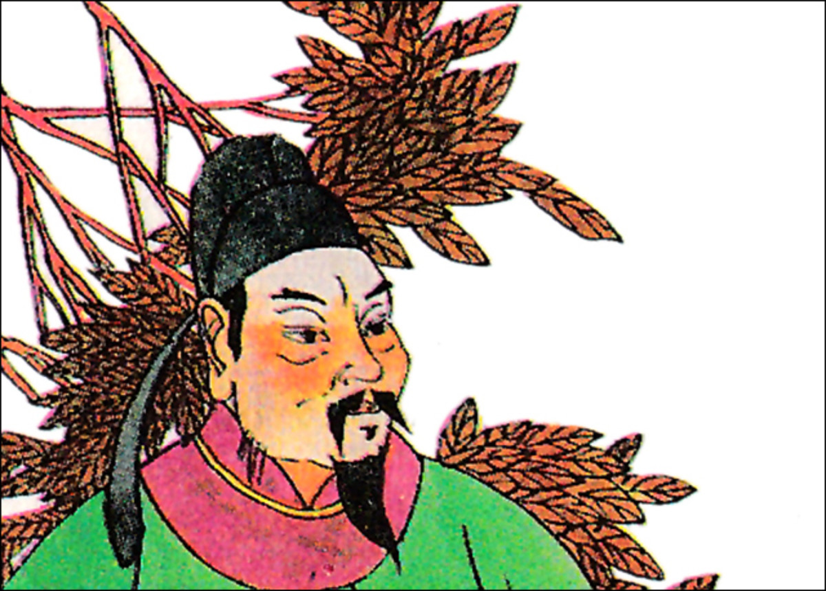 Chinese tragic emperor Li Yu. Artist extraordinaire, but ill-suited to be a ruler.