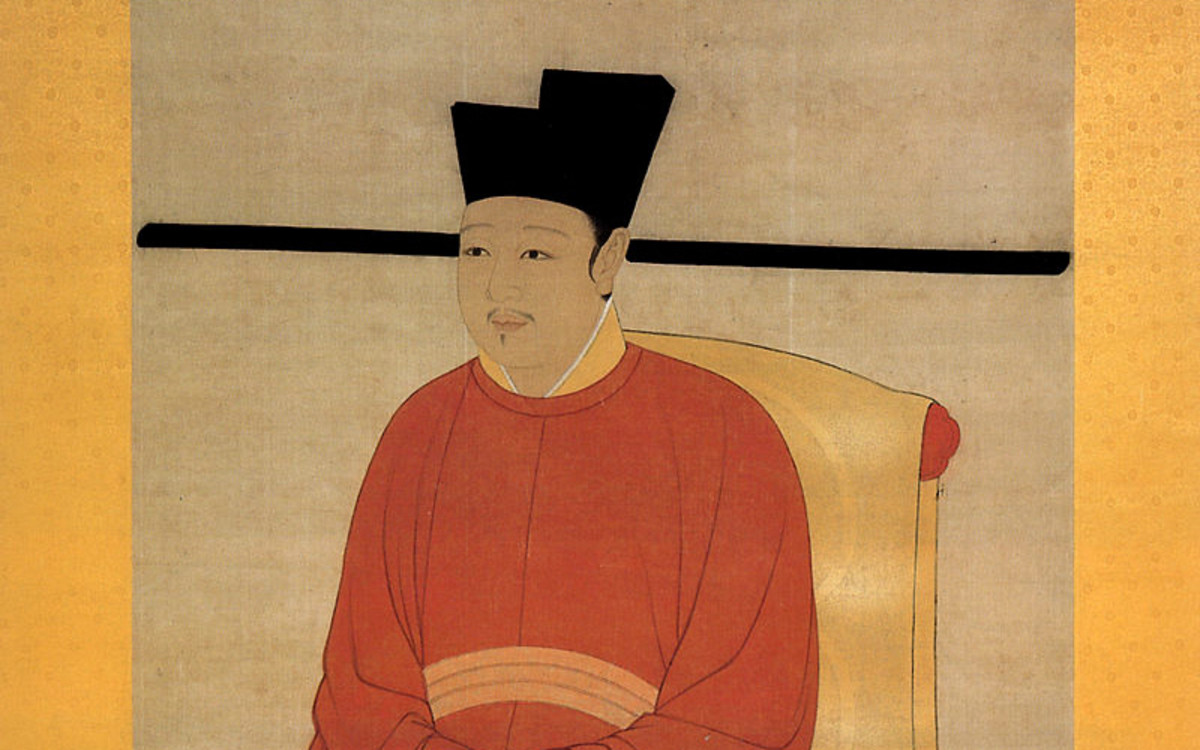 Like Li Yu, Zhao Ji is considered one of the most artistically accomplished Chinese emperors. He was also the reigning emperor in the Chinese literature classic, Water Margin.