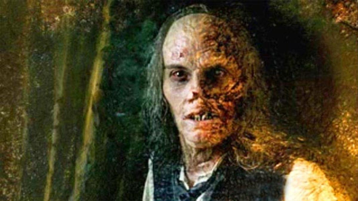 Dorian's portrait over time