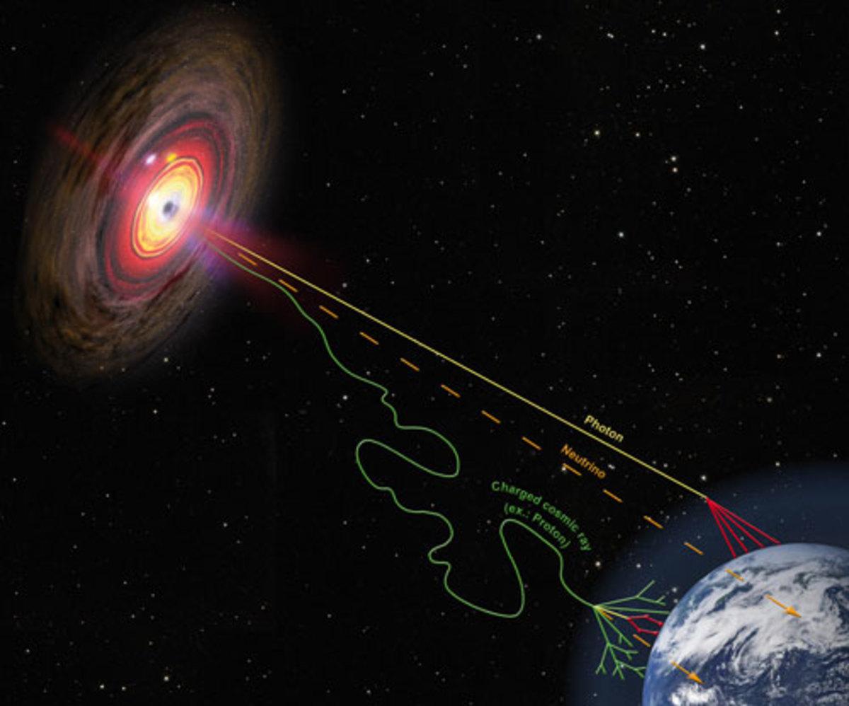 Black hole as a generator?