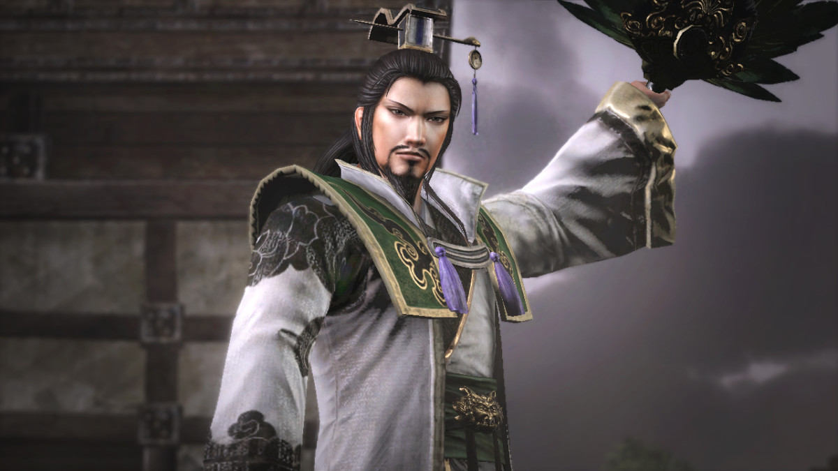 In pop entertainment depictions, Zhuge Liang is often shown wielding a crane feather fan and wearing Taoism inspired robes. He is also one of the most mystified Chinese heroes, with many legends of him summoning winds and creating magical arrays.