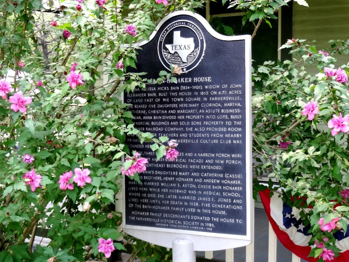 Texas Historical Commission, Landmark