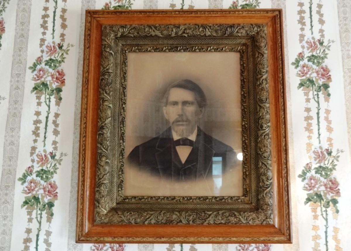 Possibly an image of John Alexander Bain, Anna's deceased husband. (unknown)