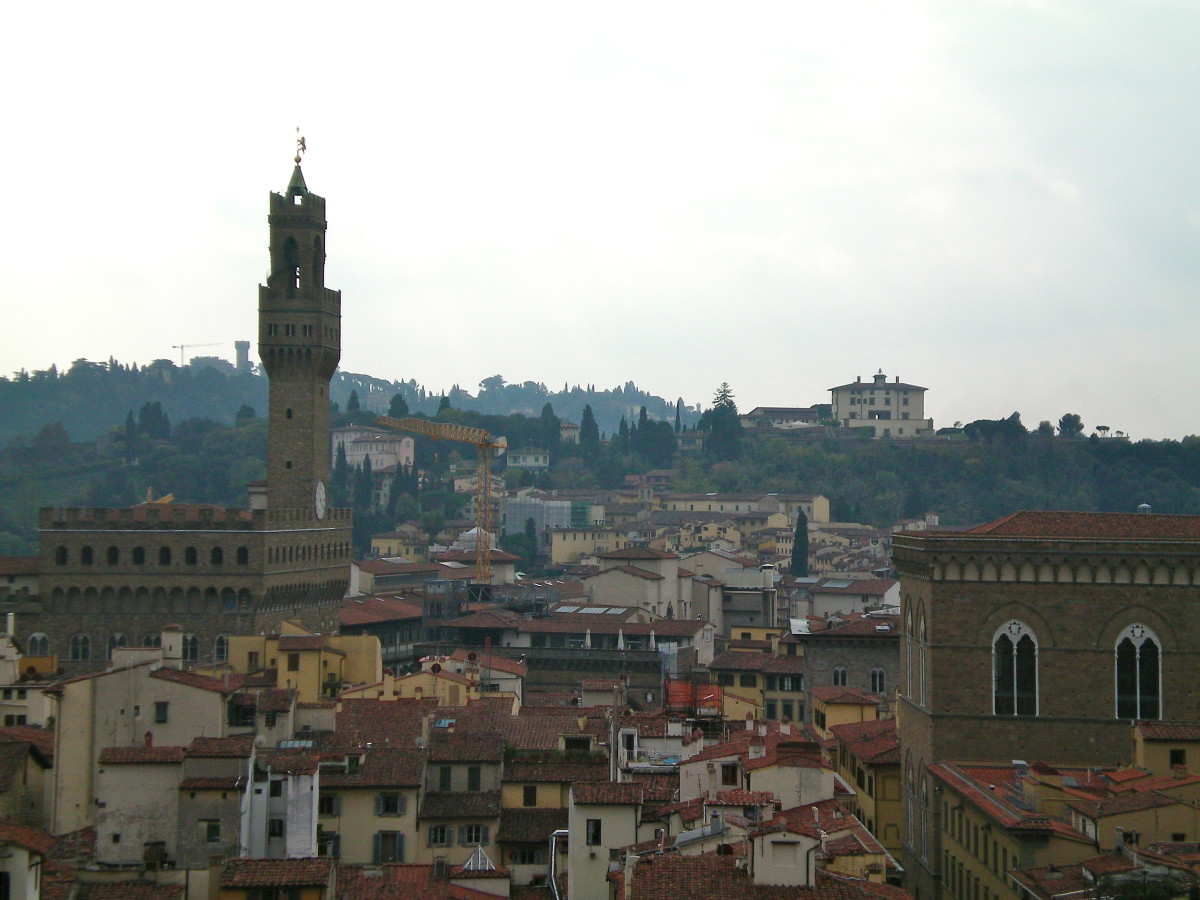 The hills surrounding Florence (c) A. Harrison